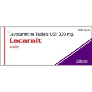 LACARNIT 330MG TABLET